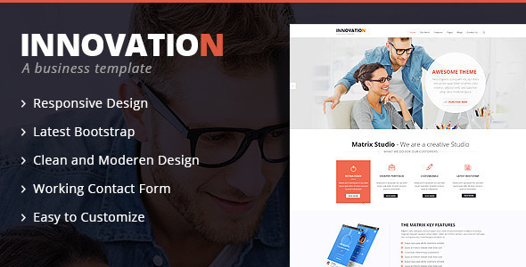 Innovation – Bootstrap Multipurpose HTML 5 Template