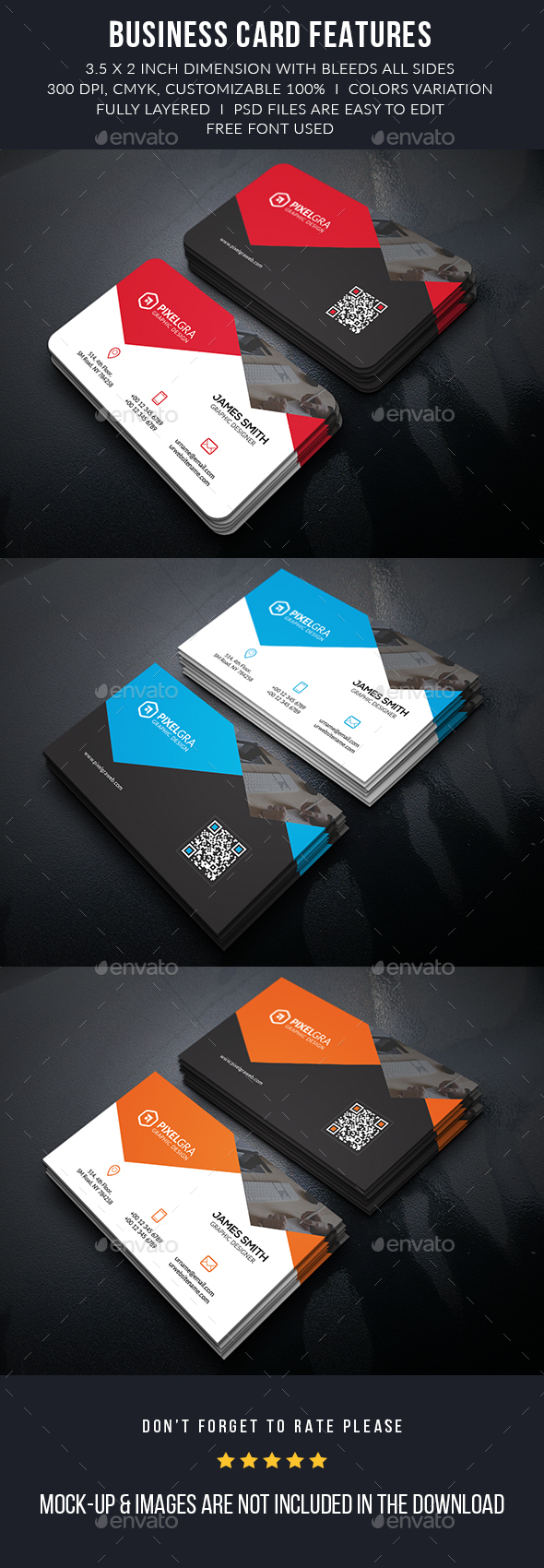 Creative Metro Business Cards