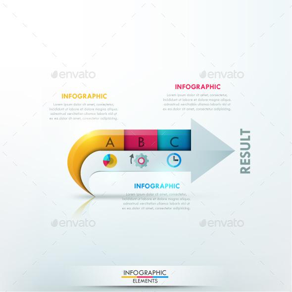 Modern Infographics Arrow Template - Infographics