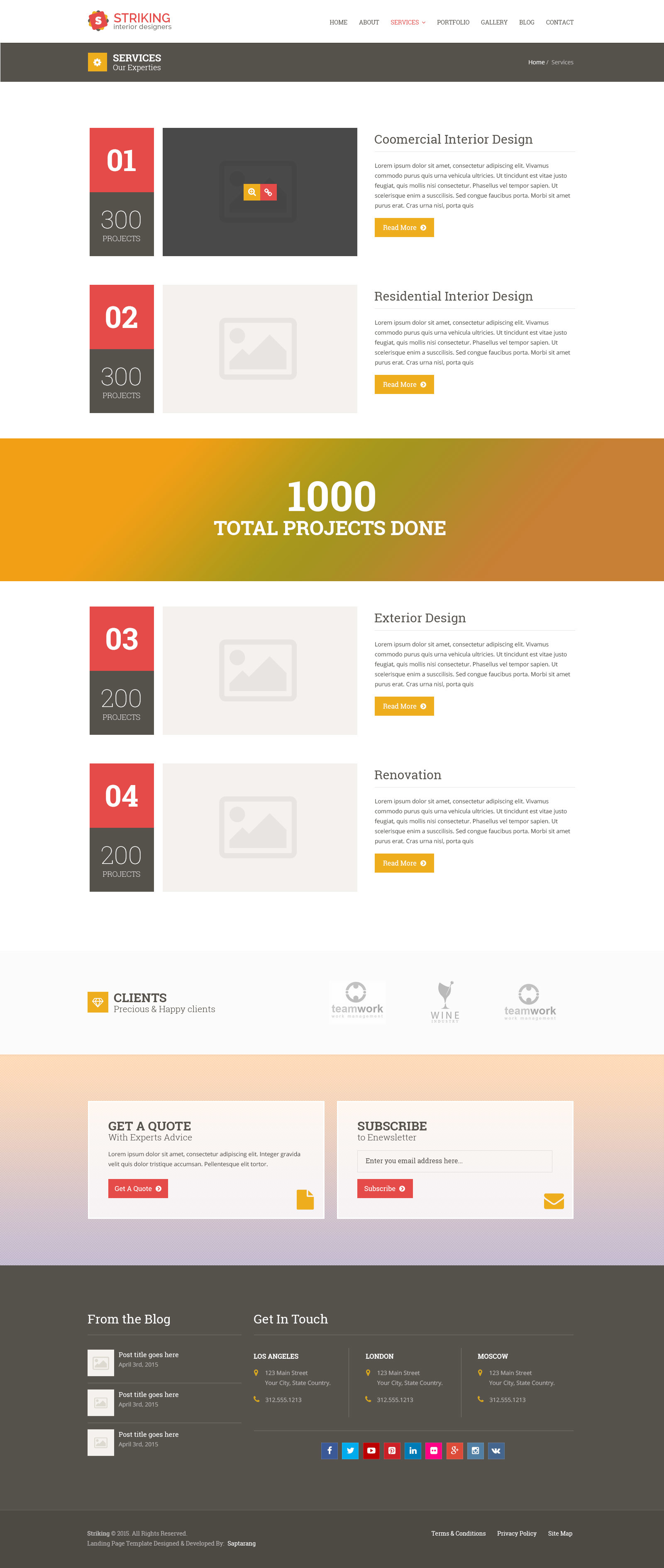 services template
