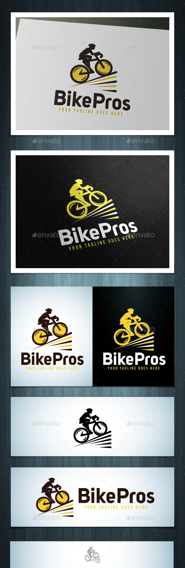 Bike Pros - Vector Abstract