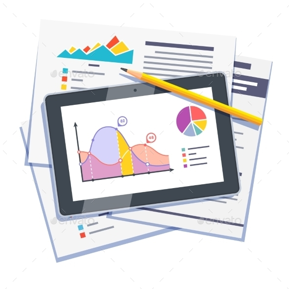 Statistical Data Abstract On Paper And Tablet - Computers Technology