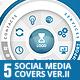 Social Media Covers Kit - II