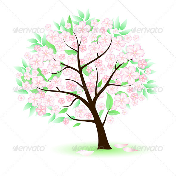 Stylized Tree - Characters Vectors