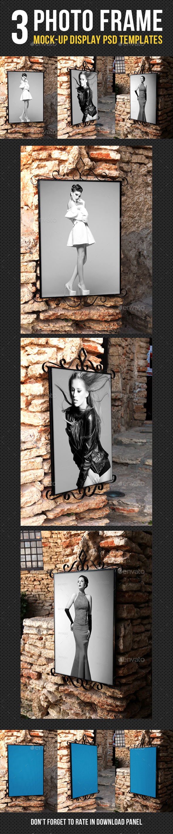 Photo Frame Mock-Up V02
