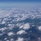 The Airplane Is Flying Above The Clouds - VideoHive Item for Sale