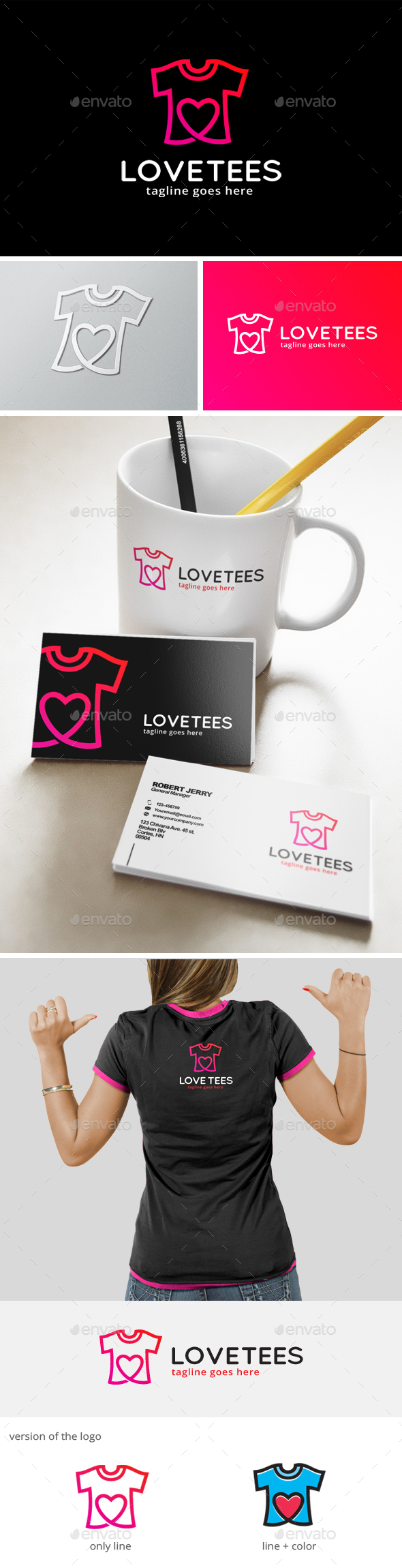 Love Tees Logo
