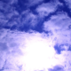 Fast Clouds in front of the Sun - VideoHive Item for Sale