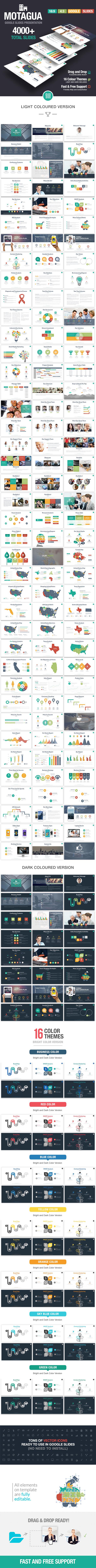 Motagua - Multipurpose Google Slides Template - Google Slides Presentation Templates
