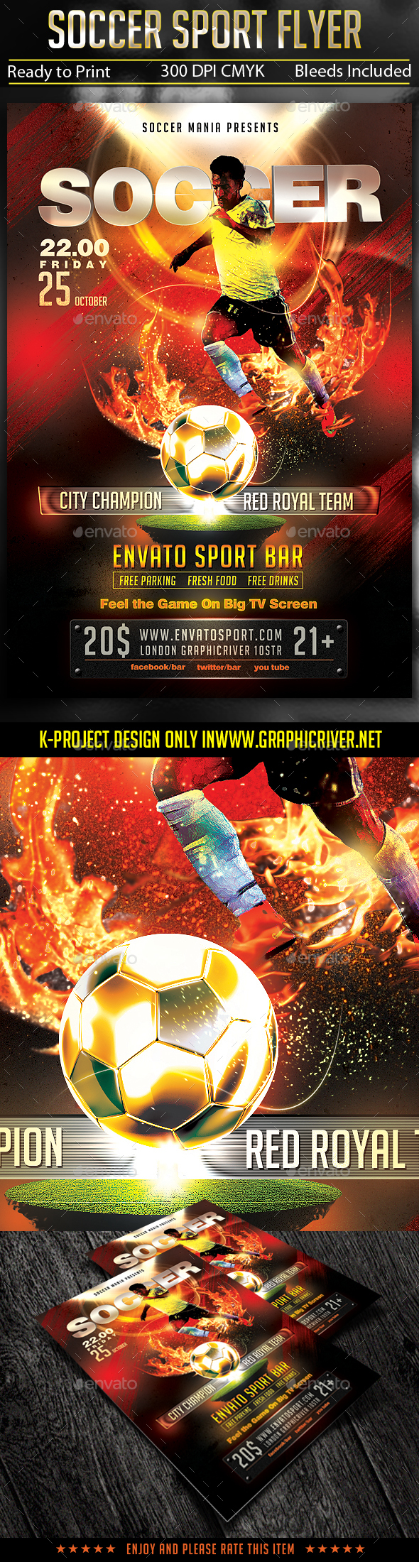 Soccer Sport Flyer - Sports Events