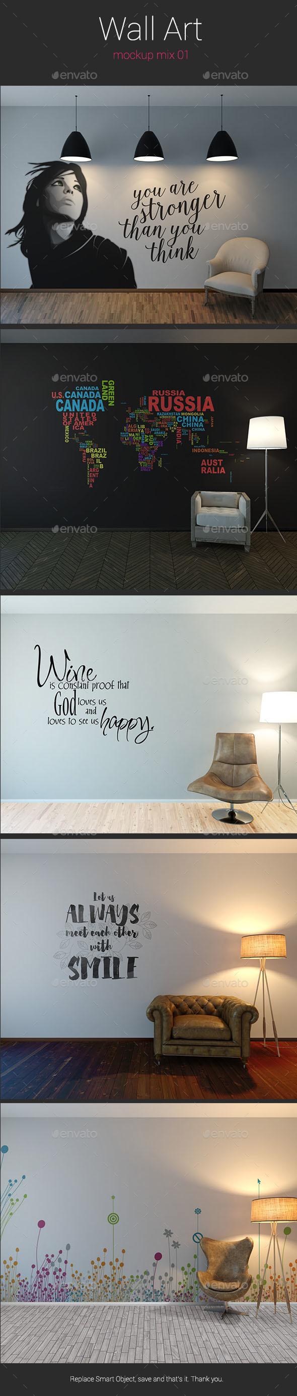 Wall Art Mockup
