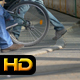 People Walk at Tram Station - VideoHive Item for Sale