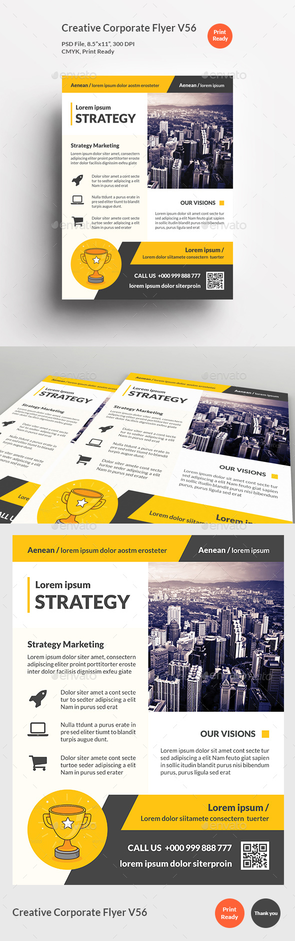 Creative Corporate Flyer V56 - Corporate Flyers
