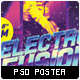 Old School Electronic Show Event Poster - GraphicRiver Item for Sale