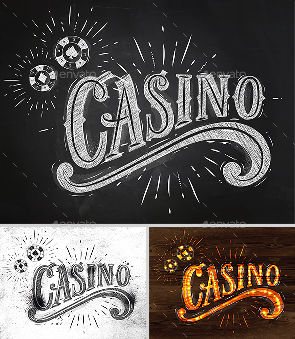 Casino Symbols - Decorative Symbols Decorative