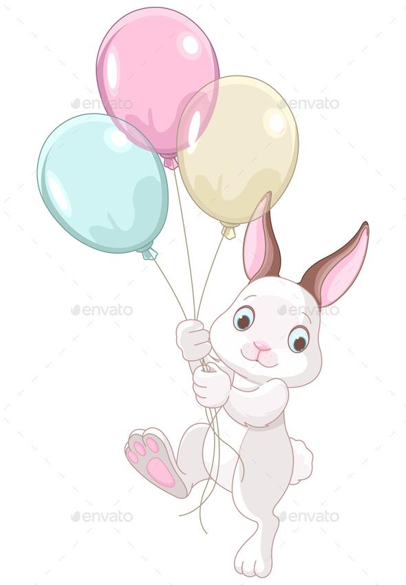Birthday Bunny - Animals Characters