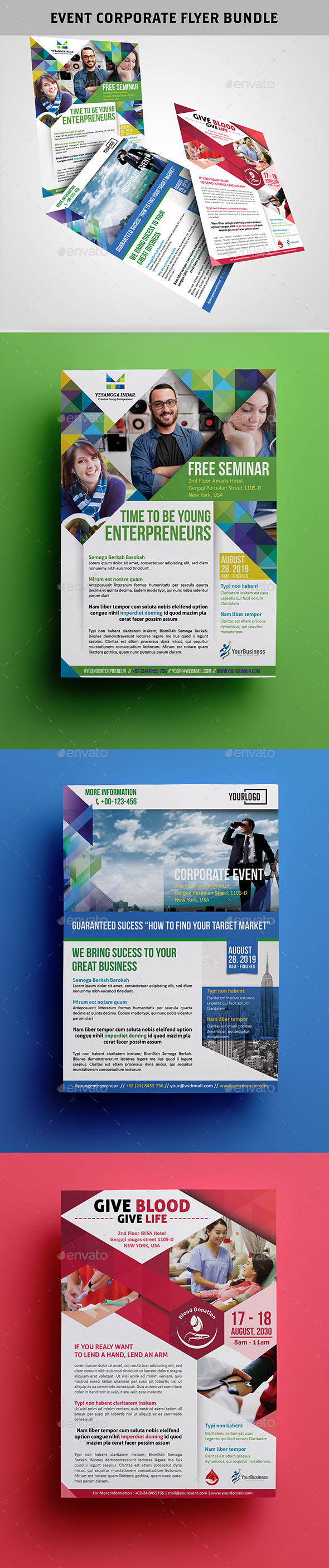 Event Corporate Flyer Bundle