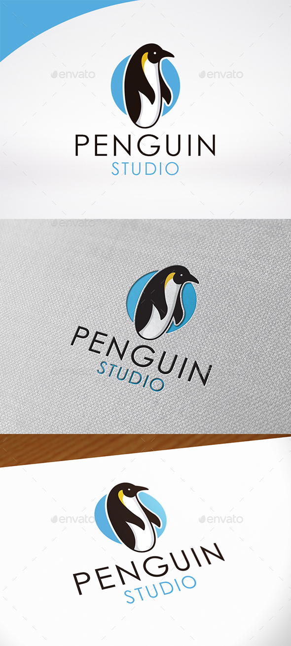 Penguin Logo Template - Animals Logo Templates