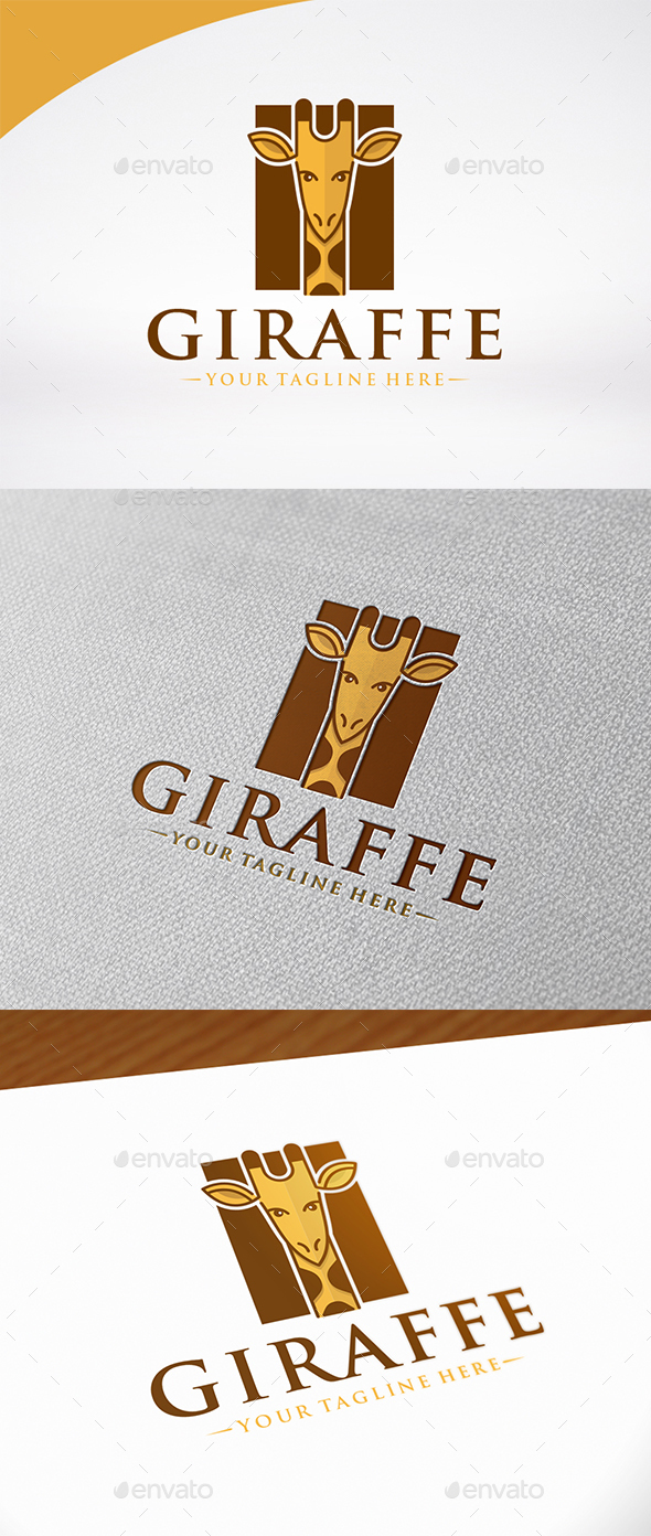Giraffe Logo Template - Animals Logo Templates