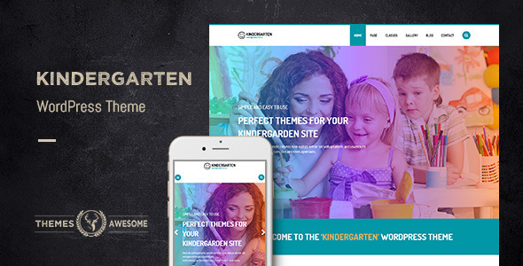 Kindergarten WordPress Theme for Children School