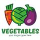 Vegetables Logo Template - GraphicRiver Item for Sale