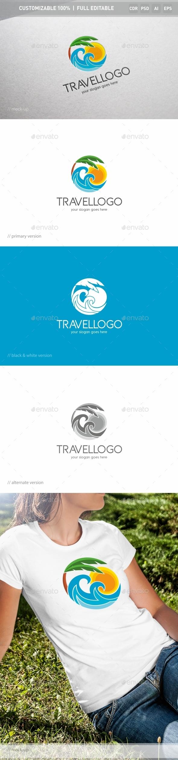 Travel Logo Template - Nature Logo Templates