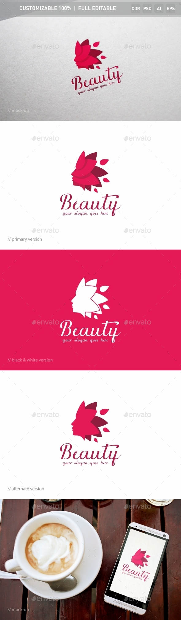 Beauty Logo Template - Objects Logo Templates