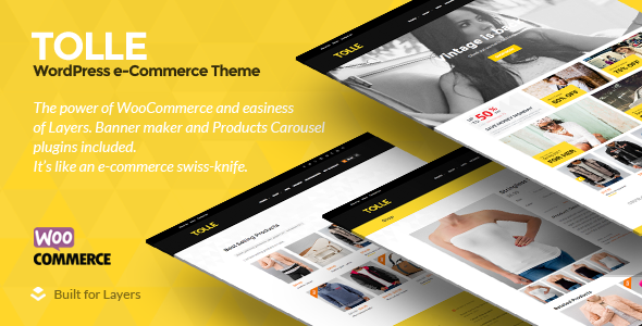 Tolle – Layers eCommerce Theme