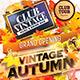 Vintage Autumn Party Flyer - GraphicRiver Item for Sale