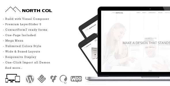 North Col - MultiPurpose WordPress Theme