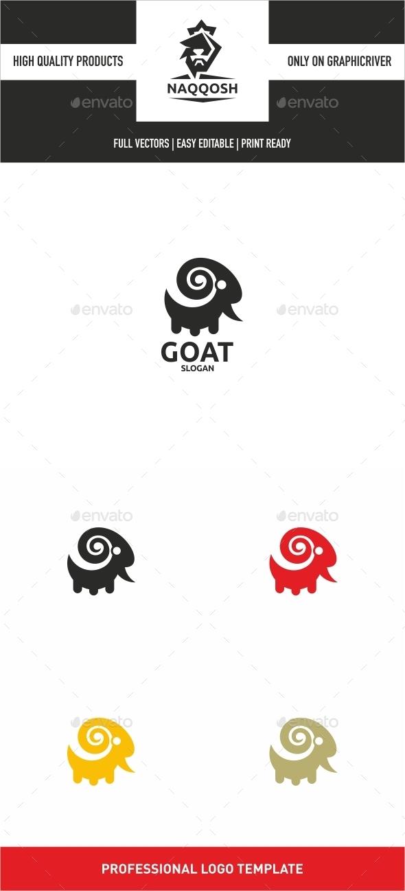 Goat - Animals Logo Templates