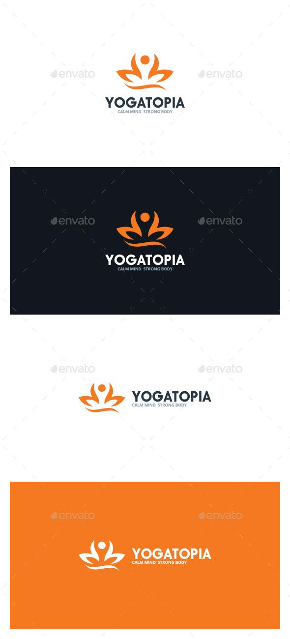 Yoga Topia Logo