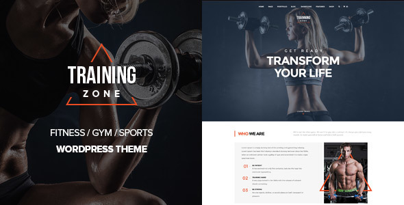 Training Zone – Gym & Fitness WordPress Theme