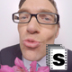Nerdy Lover Man Holding Flowers - VideoHive Item for Sale