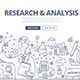 Research & Analysis Doodle Concept - GraphicRiver Item for Sale