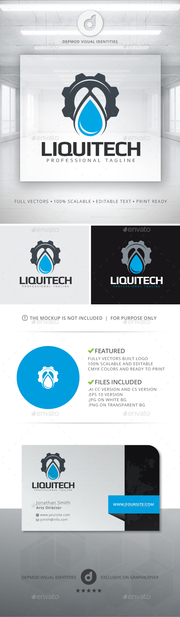 Liquitech Logo