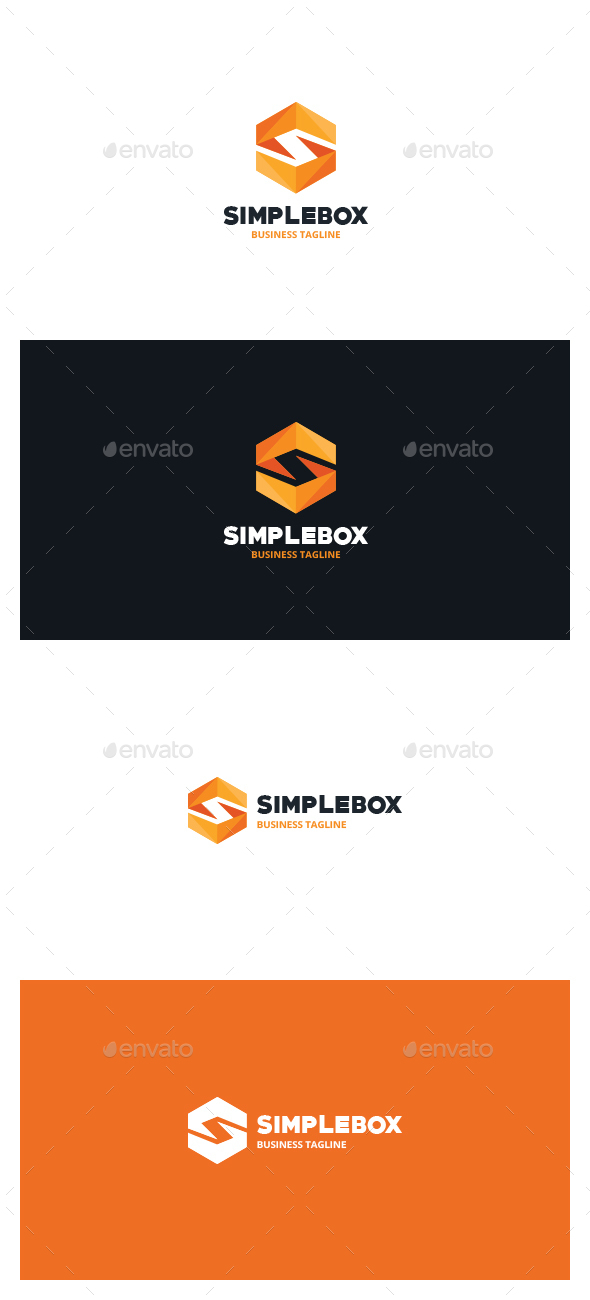 Simple Box Logo - Symbols Logo Templates