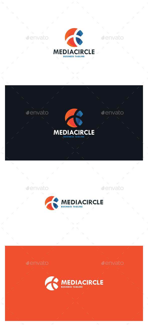 Media Circle Logo - Symbols Logo Templates