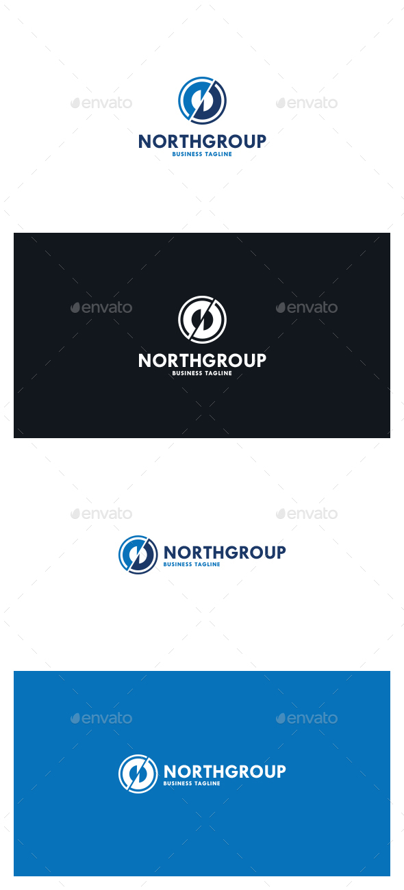 North Group Logo - Symbols Logo Templates