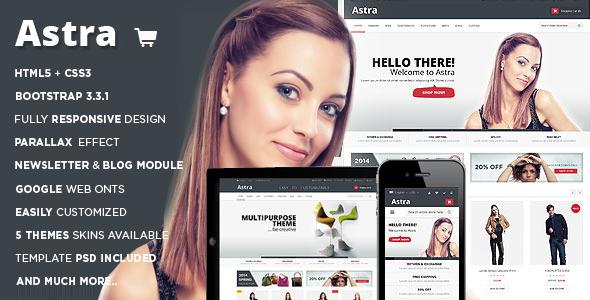 Astra – Responsive Multipurpose OpenCart Theme