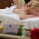 Woman Receiving Back Massage At Salon Spa - VideoHive Item for Sale