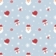 Seamless Christmas Pattern. Scrapbook. New Year - GraphicRiver Item for Sale