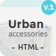 Urban Accessories - HTML E-Commerce Template - ThemeForest Item for Sale