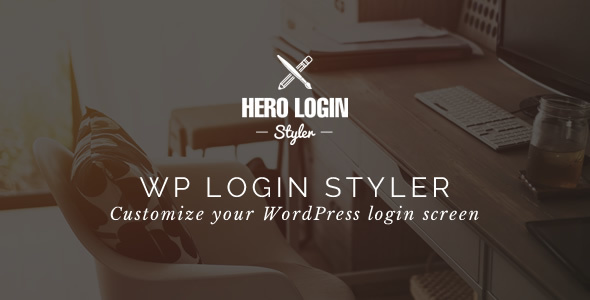 Hero Login Styler - WP Login Screen Customizer - CodeCanyon Item for Sale