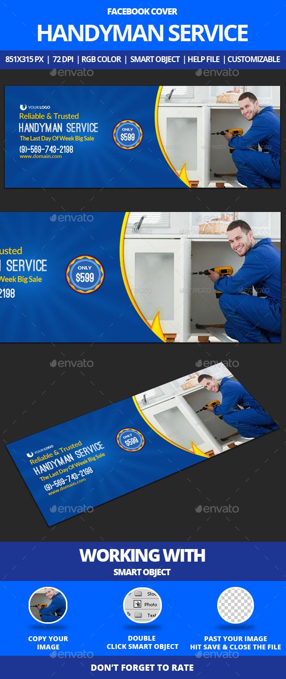Handyman Service Facebook Cover