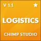 Logistics | Transportation  Warehousing WP Theme Nulled