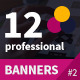 12 Professional Multi-Purpose Banners - GraphicRiver Item for Sale