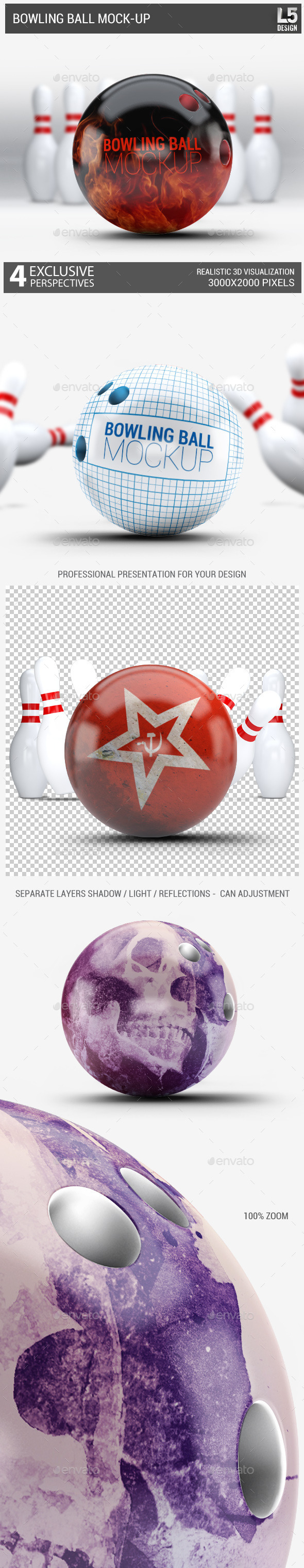 Bowling Ball Mock-Up