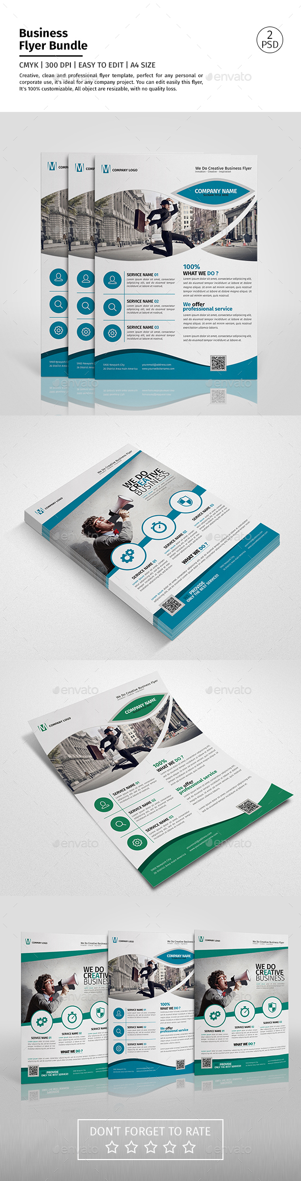 Corporate Flyer Bundle 04