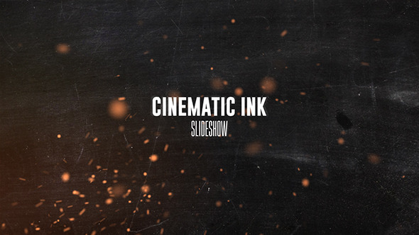 Cinematic Ink Slideshow